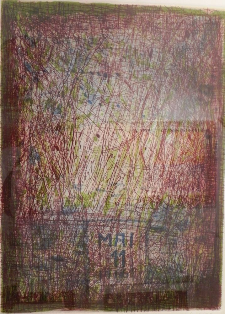 Lithographie Corpora - UNTITLED