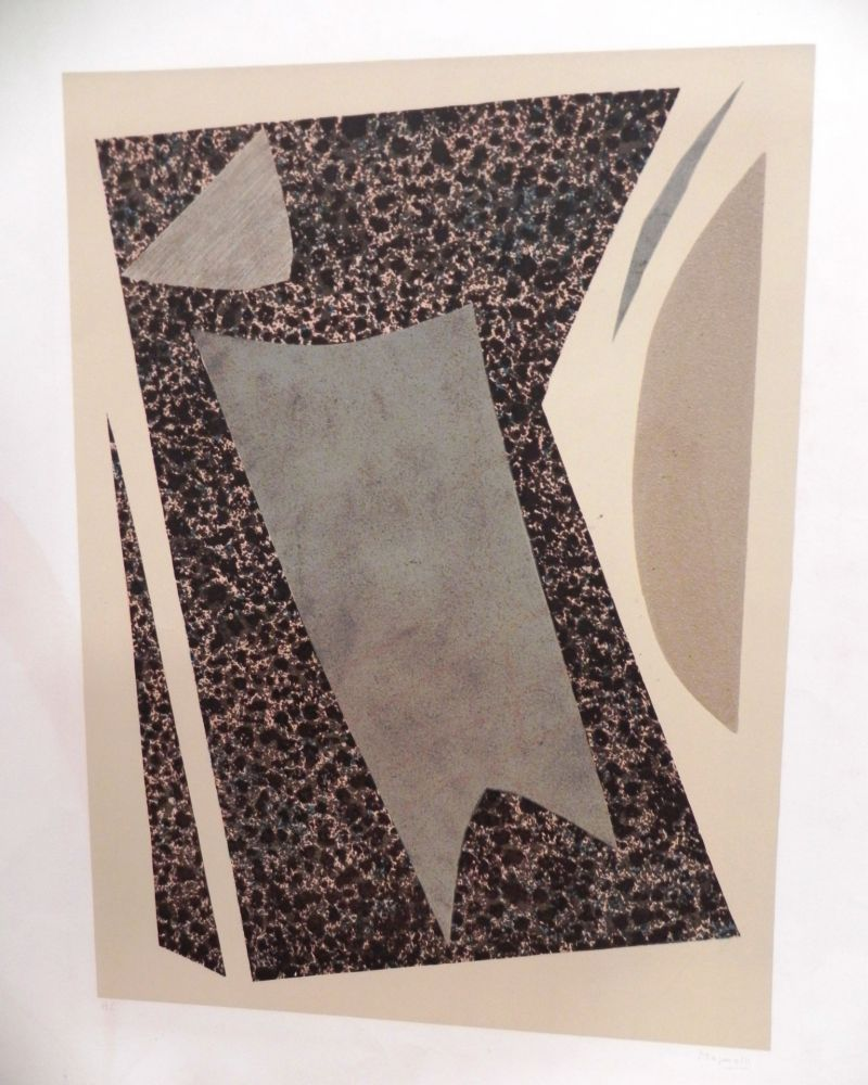 Lithographie Magnelli - UNTITLED