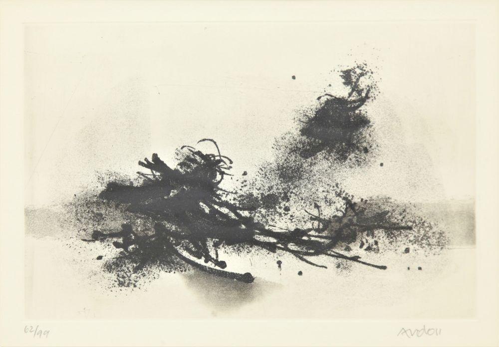Eau-Forte Et Aquatinte Ardon - Untitled