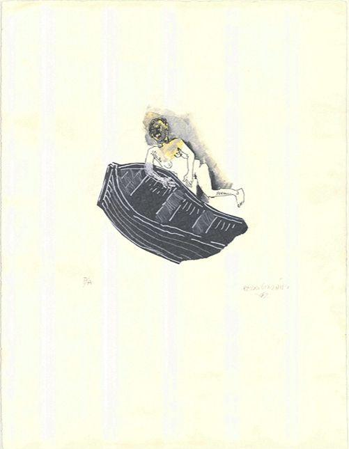 Lithographie González - Untitled