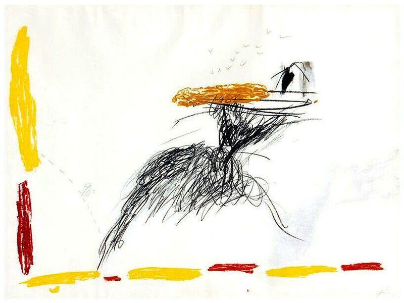Gravure Tàpies - Untitled