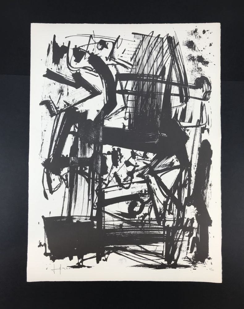 Lithographie Vedova - Untitled
