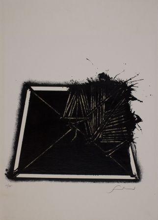 Sérigraphie Scanavino - Untitled