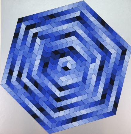 Lithographie Vasarely - Untitled