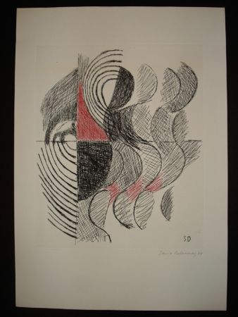 Gravure Delaunay - Untitled