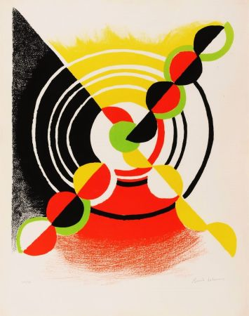 Lithographie Delaunay - Untitled