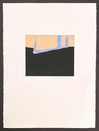 Eau-Forte Et Aquatinte Motherwell - Untitled