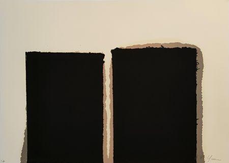 Sérigraphie Yun - Untitled