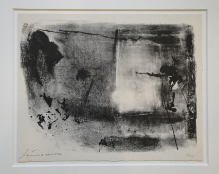Lithographie Santomaso - Untitled