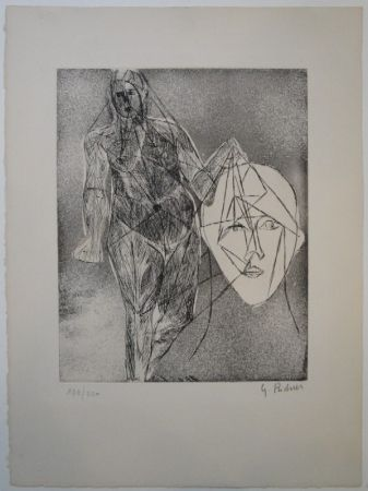 Eau-Forte Et Aquatinte Richier - Untitled