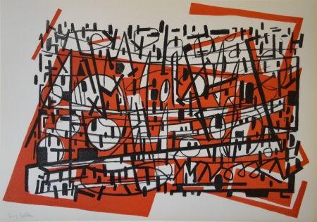 Lithographie Spiller - Untitled