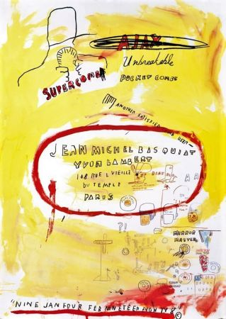 Lithographie Basquiat - Untitled