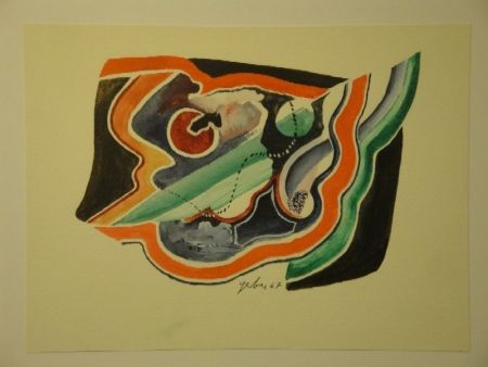 Monotype Gerber - Untitled