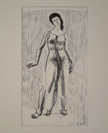 Lithographie Hodler - Untitled