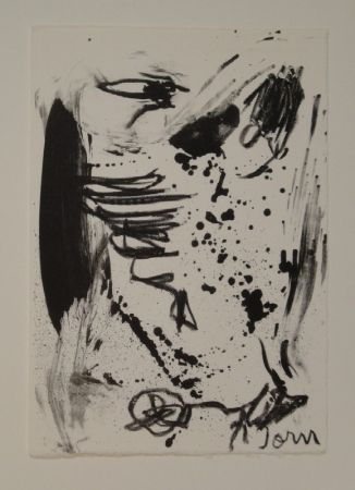 Lithographie Jorn - Untitled