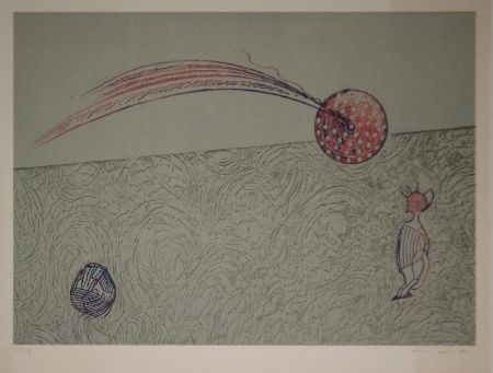 Lithographie Ernst - Untitled