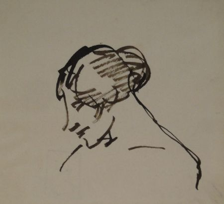 Monotype Steinlen - Untitled
