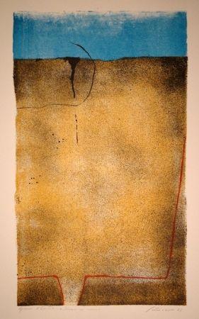 Lithographie Santomaso - Untitled