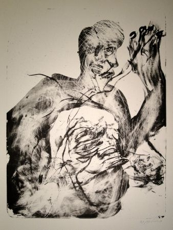 Lithographie Disler - Untitled