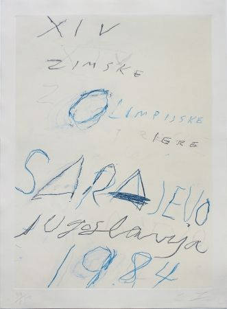 Lithographie Twombly - Untitled