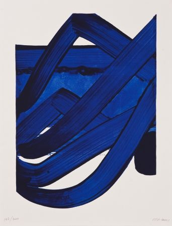 Lithographie Soulages - Untitled