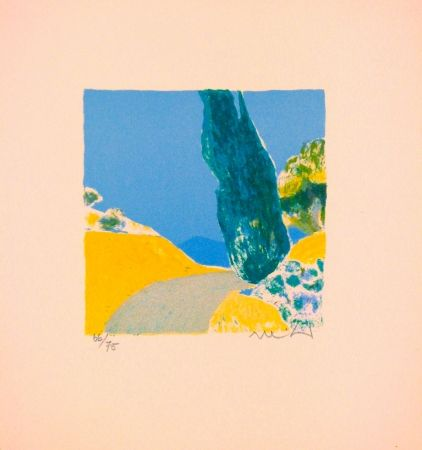 Lithographie Muhl - Untitled