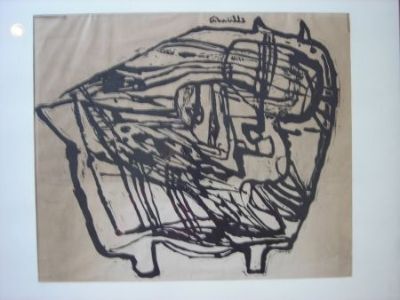 Lithographie Corneille - Untitled