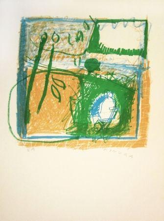 Lithographie Kimura - Untitled