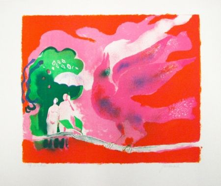 Lithographie Guiramand - Untitled