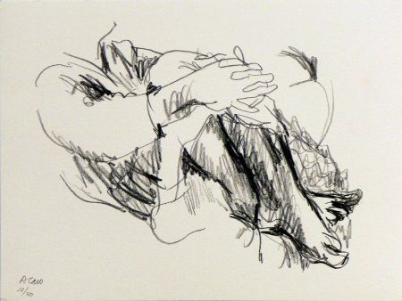 Lithographie Caro - Untitled