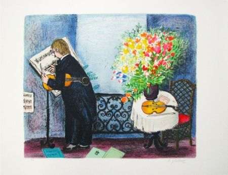 Lithographie Jirlow - Untitled