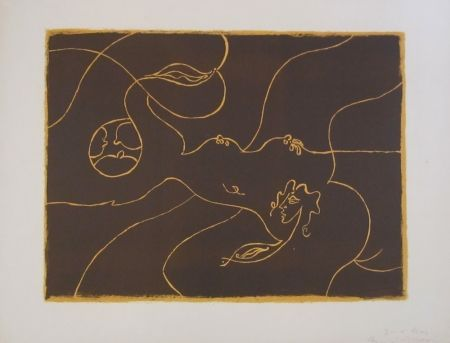 Lithographie Masson - Untitled