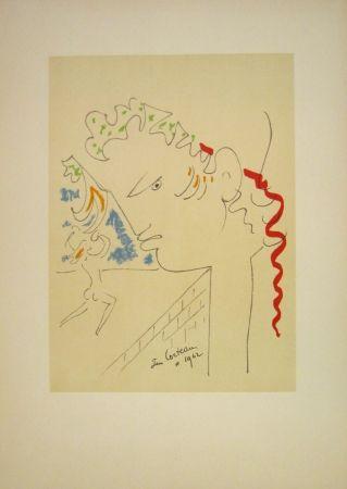 Lithographie Cocteau - Untitled