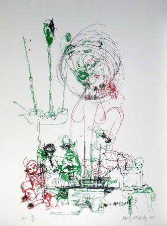 Sérigraphie Mccarthy - Untitled