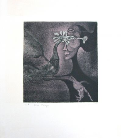 Lithographie Bouché - Untitled
