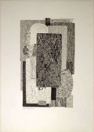 Gravure Vieillard - Untitled