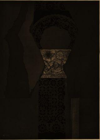 Eau-Forte Et Aquatinte Nevelson - Untitled