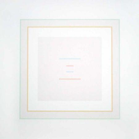 Sérigraphie Calderara - Untitled