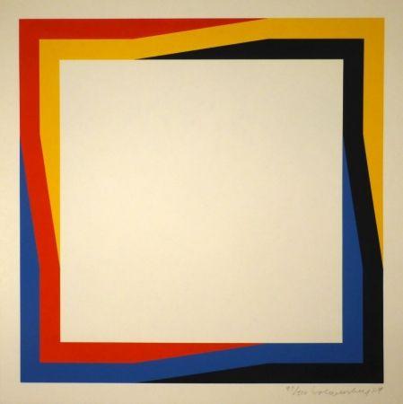 Sérigraphie Loewensberg - Untitled