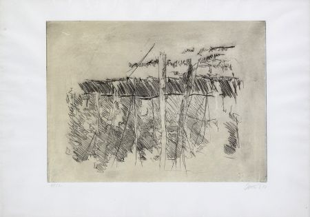 Eau-Forte Baselitz - Untitled