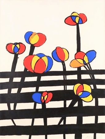 Lithographie Calder - Untitled