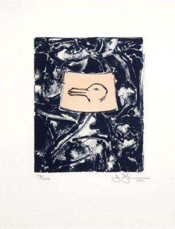 Lithographie Johns - Untitled