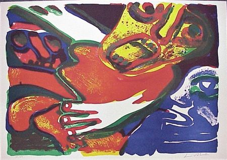 Lithographie Lindstrom - Untitled