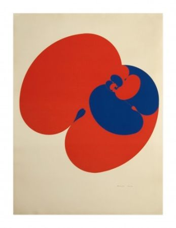 Lithographie Agam - Untitled