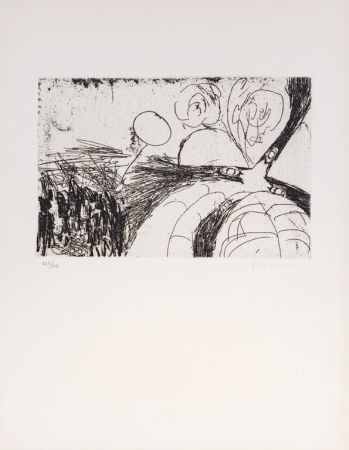 Eau-Forte Whitman - Untitled
