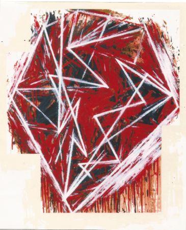 Sérigraphie Bochner - Untitled