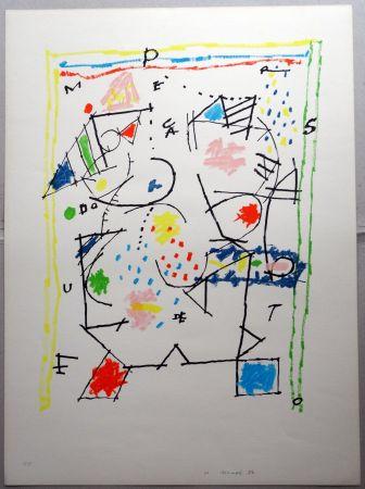 Lithographie Mompó - Untitled
