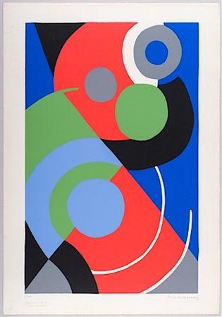 Sérigraphie Delaunay - Untitled