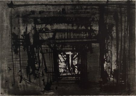 Lithographie Scanavino - Untitled