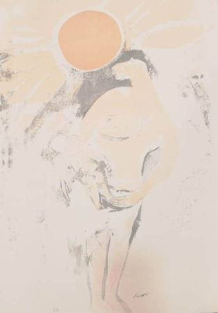 Lithographie Saetti - UNTITLED